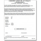 Setup Charge for NIST Traceable Certification - NIST-SETUP